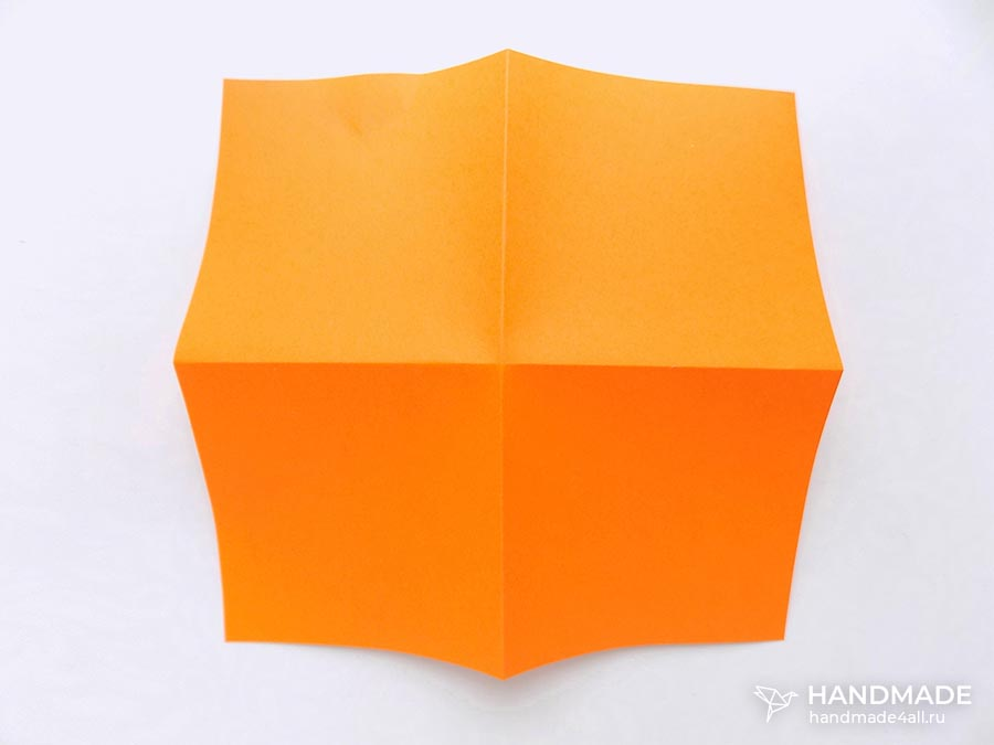 бантик из бумаги пошаговая инструкция