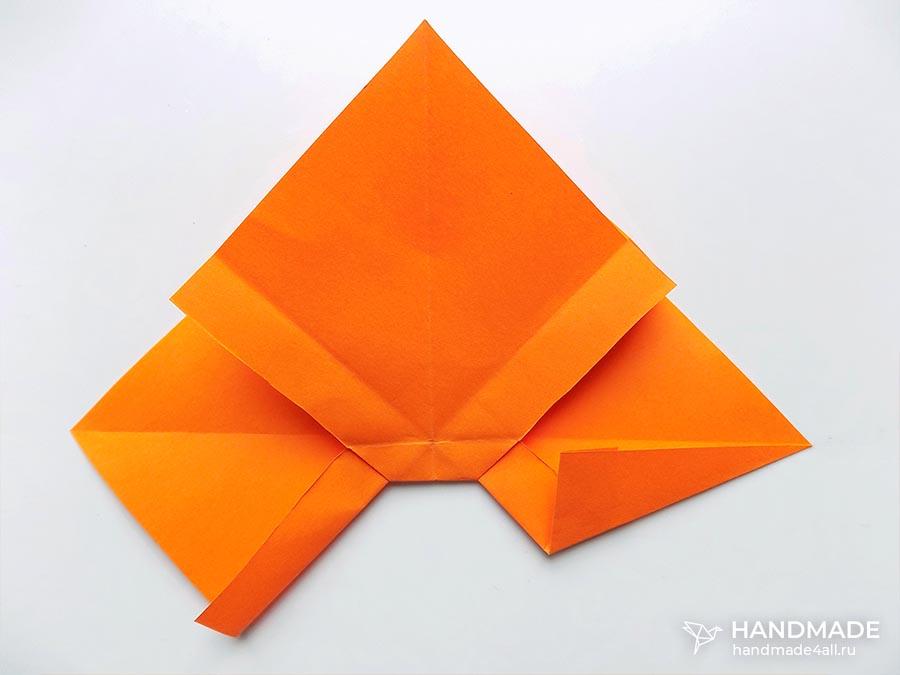 Бантик из бумаги своими руками