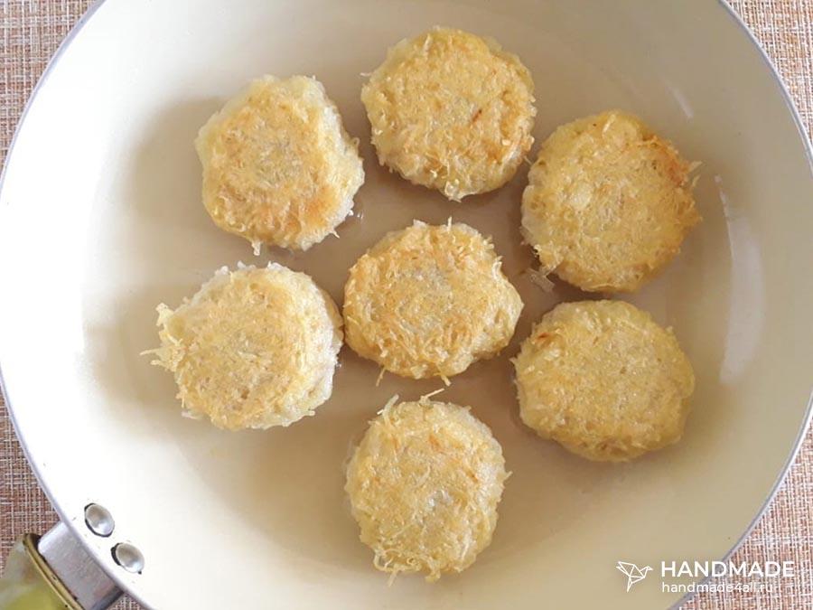 Картофельные ежики с фаршем