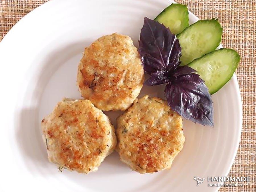Курино-картофельные котлеты – пошаговый рецепт