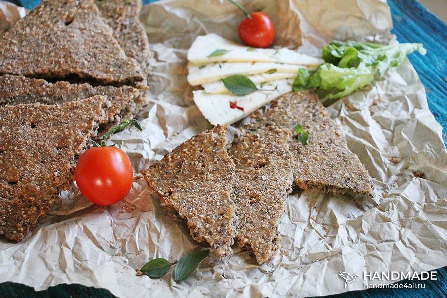 Ржаные хлебцы – рецепт приготовления